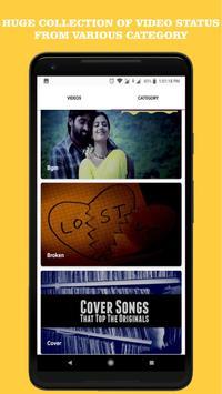 Tamil Love Video Status स्क्रीनशॉट 1