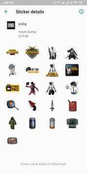 Pubg Stickers screenshot 3