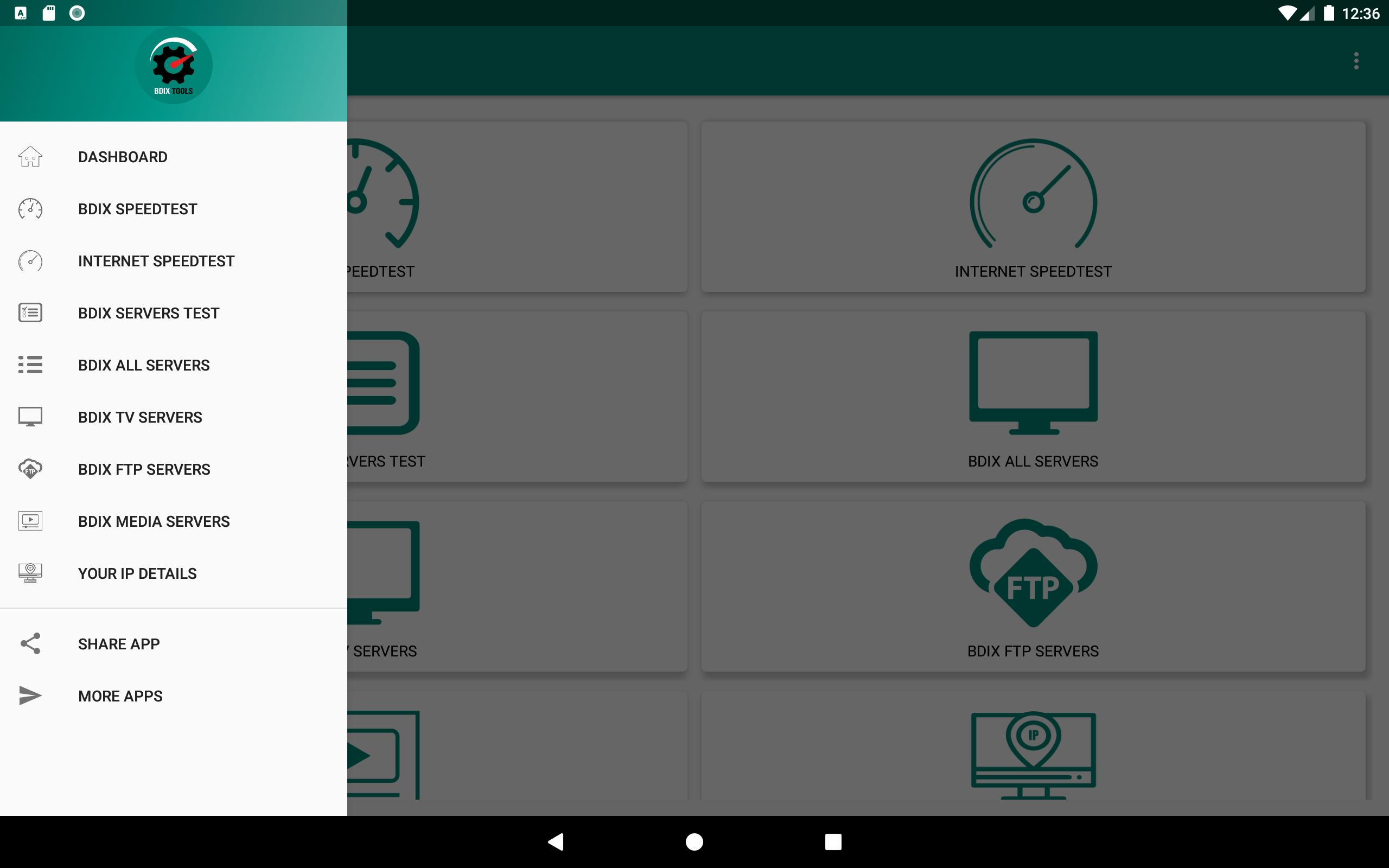 BDIX TOOLS - TV | FTP | MEDIA SERVERS, SPEED TEST for Android - APK
