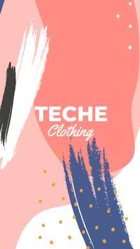 TECHE Clothing - Ropa para mujer poster