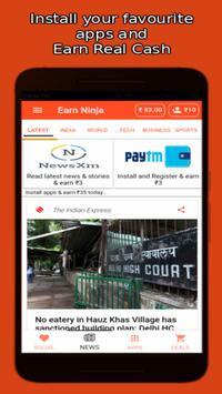 Earn Ninja : Earn Free Recharge screenshot 3