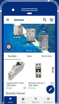 Aerrexo - Industrial Equipment Online store poster