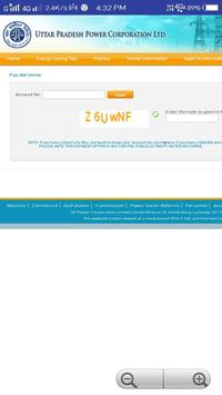 UP Bijli bill check online screenshot 2