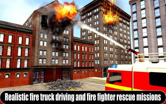 American Fire Fighter 2019: Airplane Rescue screenshot 1