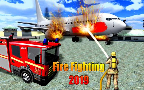 American Fire Fighter 2019: Airplane Rescue poster
