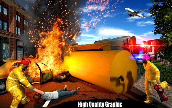 American Fire Fighter 2019: Airplane Rescue screenshot 4
