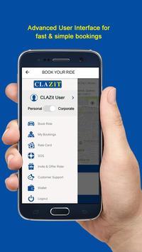 CLAZiT Car Rental screenshot 2