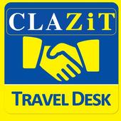 CLAZiT Car Rental Travel Desk icon