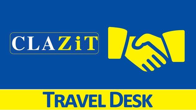 CLAZiT Car Rental Travel Desk screenshot 1