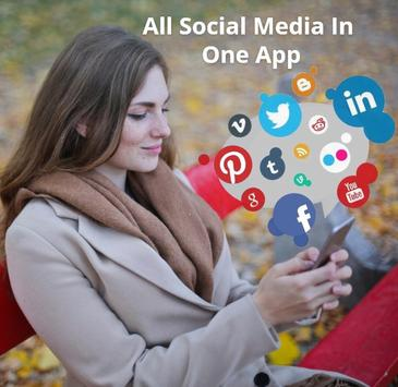 All Social Media : All Social Networks In One App poster