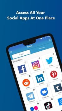 All Social Media : All Social Networks In One App screenshot 1