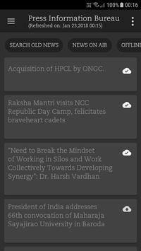 News: PIB, AIR, DD, GoI & GK screenshot 5