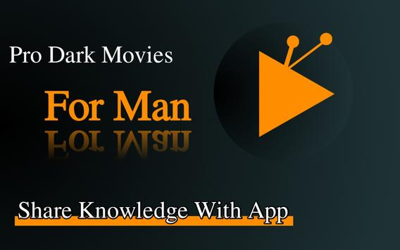 Pro Dark Movies Official - For Man-poster