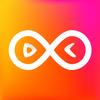 Boomerang loop Video Gif Maker-icoon