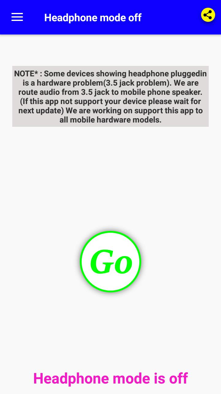 Headphone Mode Off For Android Apk Download
