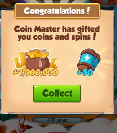 Daily Free Spin Link In Coin Master