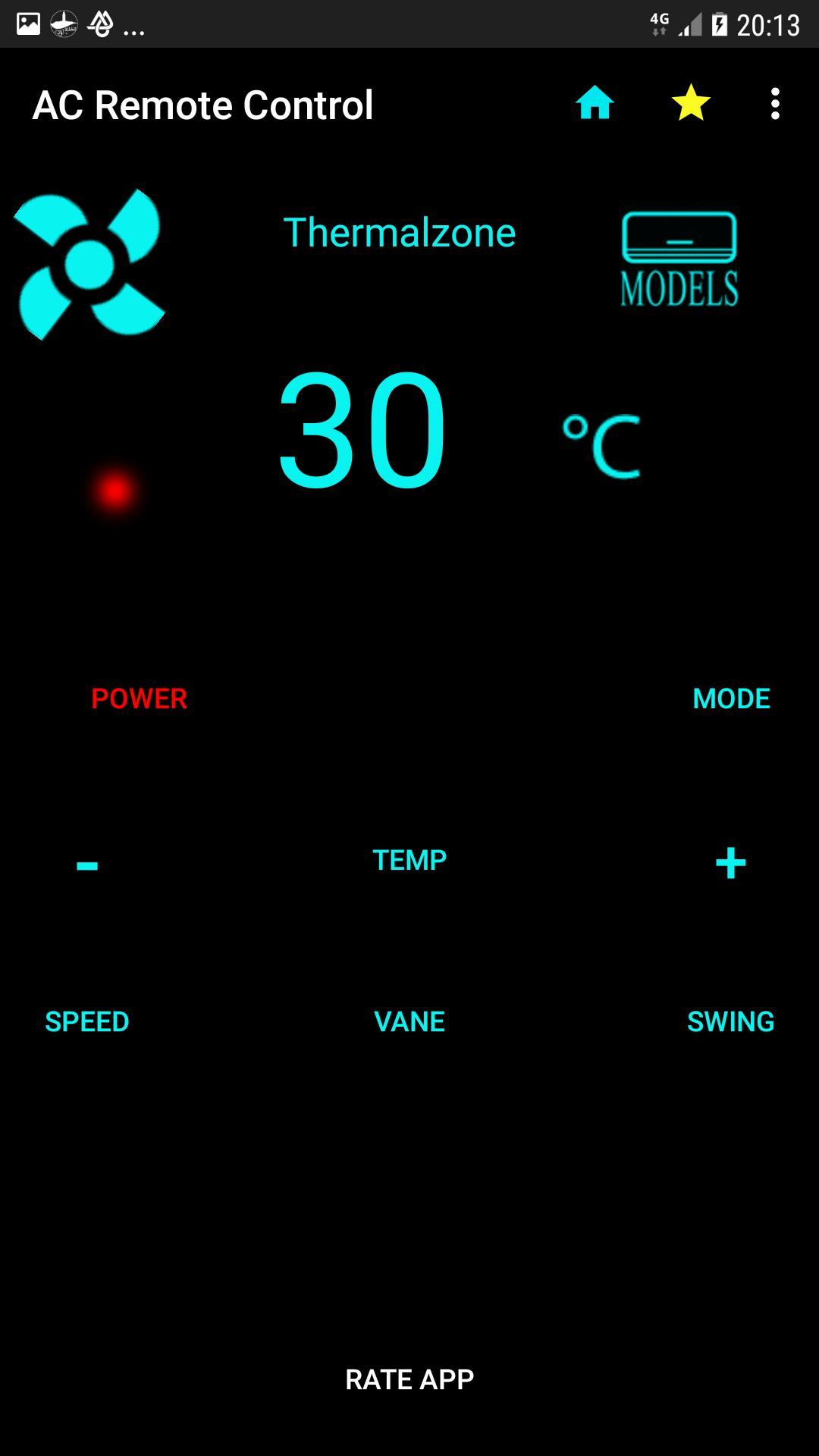 AC Remote Control Universal cho Android - Tải về APK