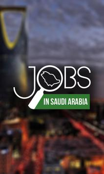 Jobs in Saudi Arabia poster