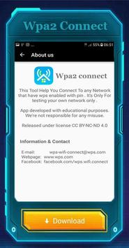 WPAConnect Wifi WPA2Connect poster