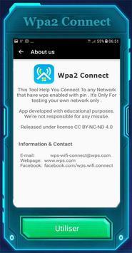 WPAConnect Wifi WPA2Connect screenshot 4