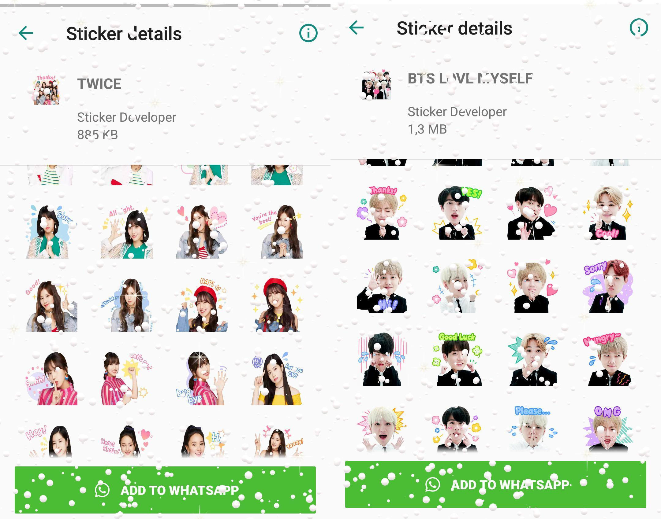 WAStickerApps Korean Idol Sticker for WhatsApp for Android - APK