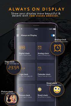 Always On Display : Amoled & Clock Display スクリーンショット 1