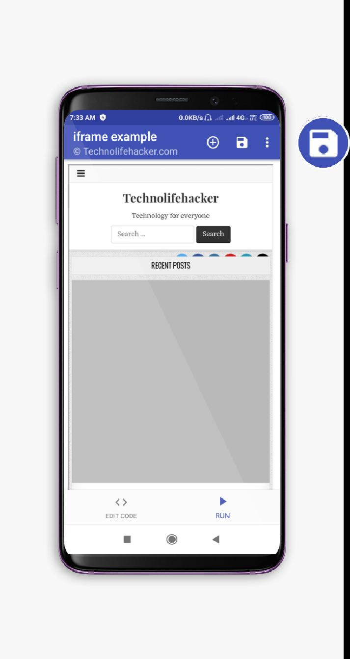 HTML COMPILER -HTML/CSS/JAVASCRIPT COMPILER/EDITOR for Android - APK