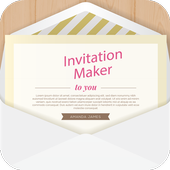 Invitation Card Maker, Invite Maker(RSVP) icon