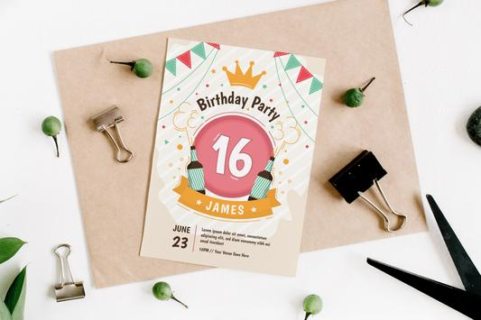 Invitation Card Maker, Invite Maker(RSVP) screenshot 4