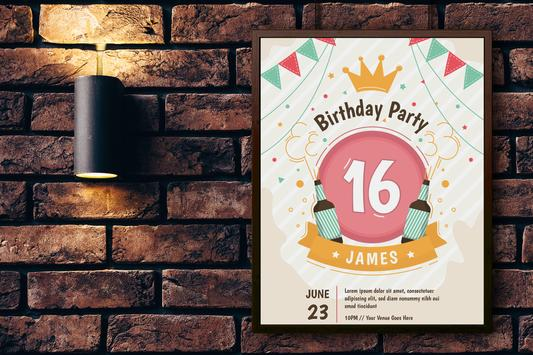Invitation Card Maker, Invite Maker(RSVP) screenshot 3