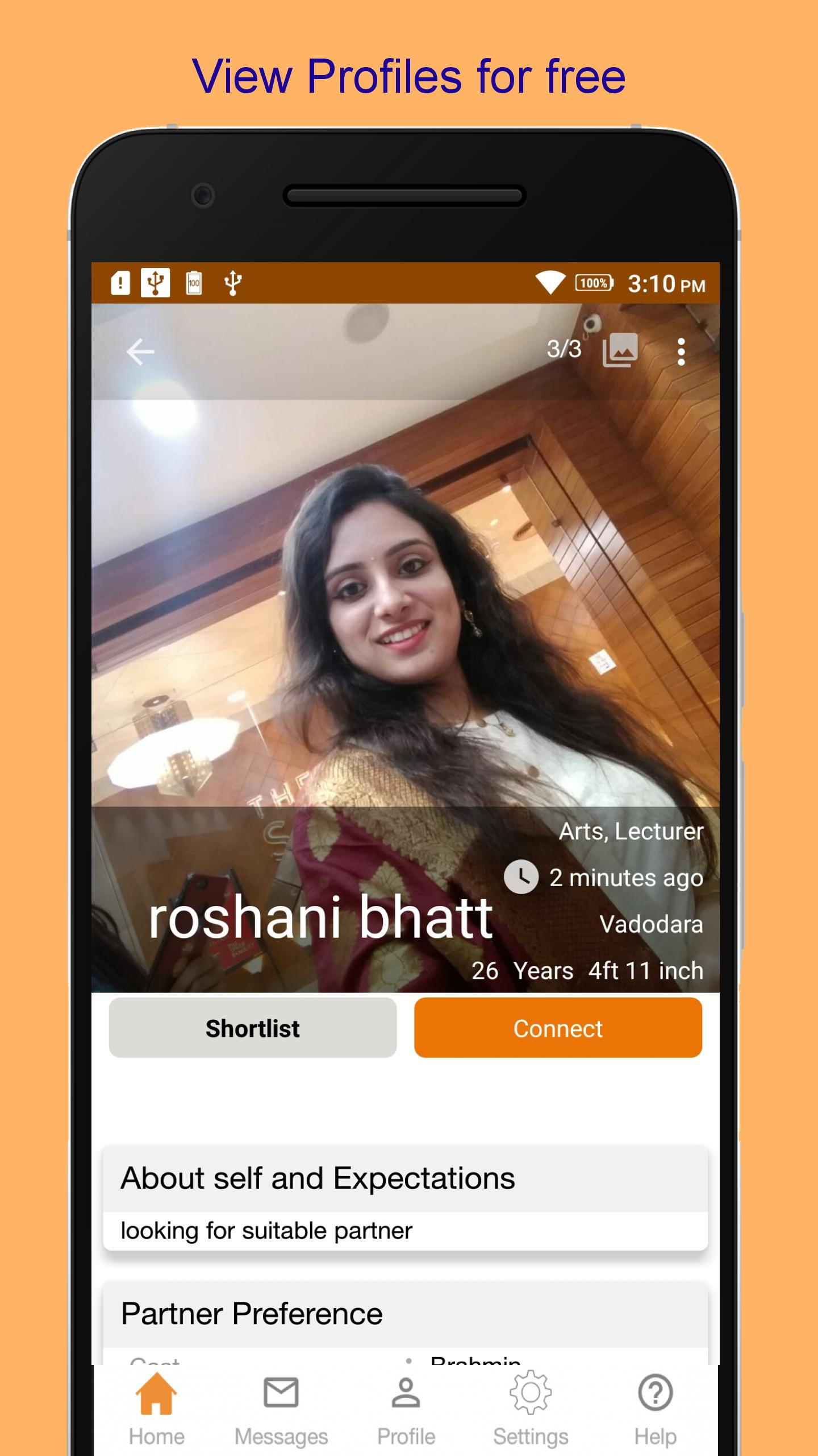 Free matrimony app - jivansathi for sadi in bharat for Android - APK