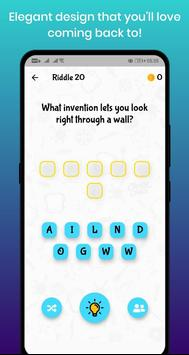 Insta Riddles - Best Who Am I Riddles Game! Screenshot 1