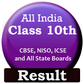 Class 10th Result - CBSE, NIOS icon