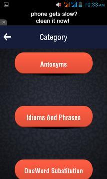 Test Your English Quiz screenshot 3