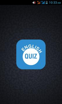 Test Your English Quiz poster