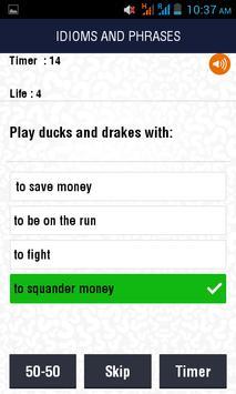 Test Your English Quiz screenshot 5