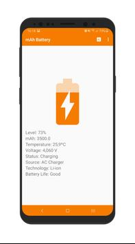 mAh Battery تصوير الشاشة 1