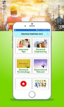 Electrical Interview Questions & Answers screenshot 1