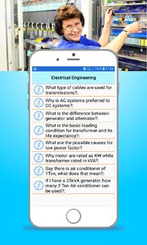 Electrical Interview Questions & Answers screenshot 2
