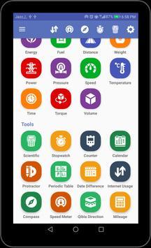 Einheitenumrechner  All-in-One-Umrechnungswerkzeug Screenshot 9