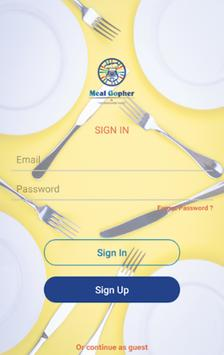 Meal Gopher screenshot 1