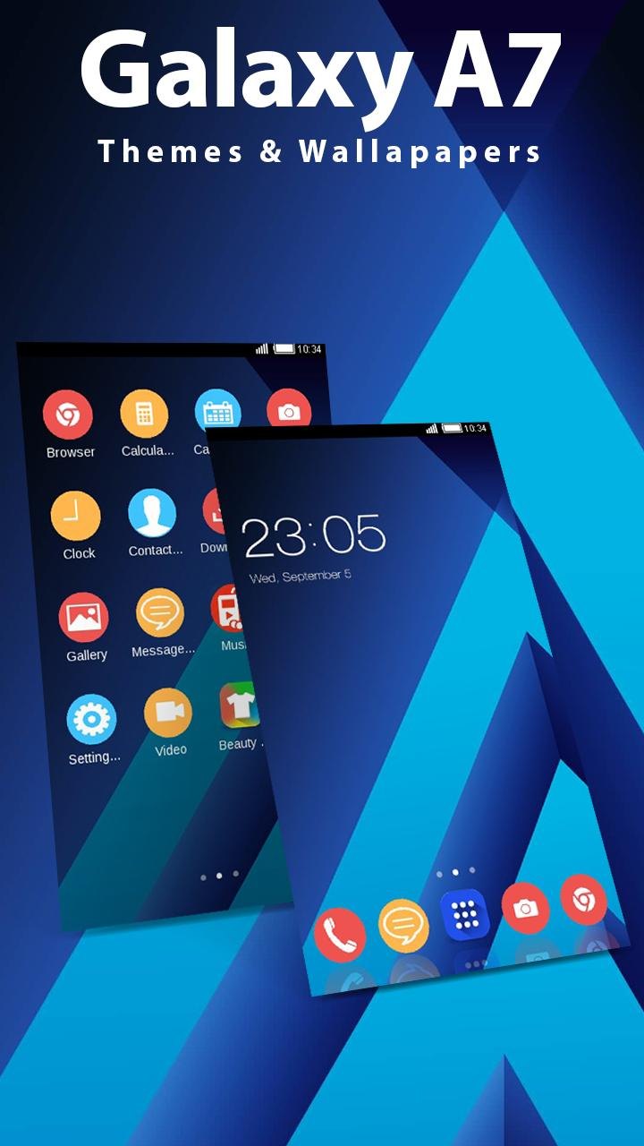 Galaxy A7 wallpapers 2019-Samsung A9 Themes 2019 for Android - APK