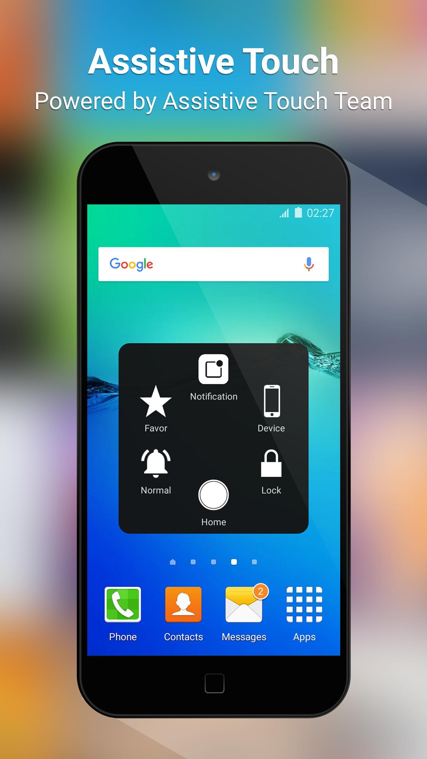 Aplikasi download aplikasi gratis Assistive Touch