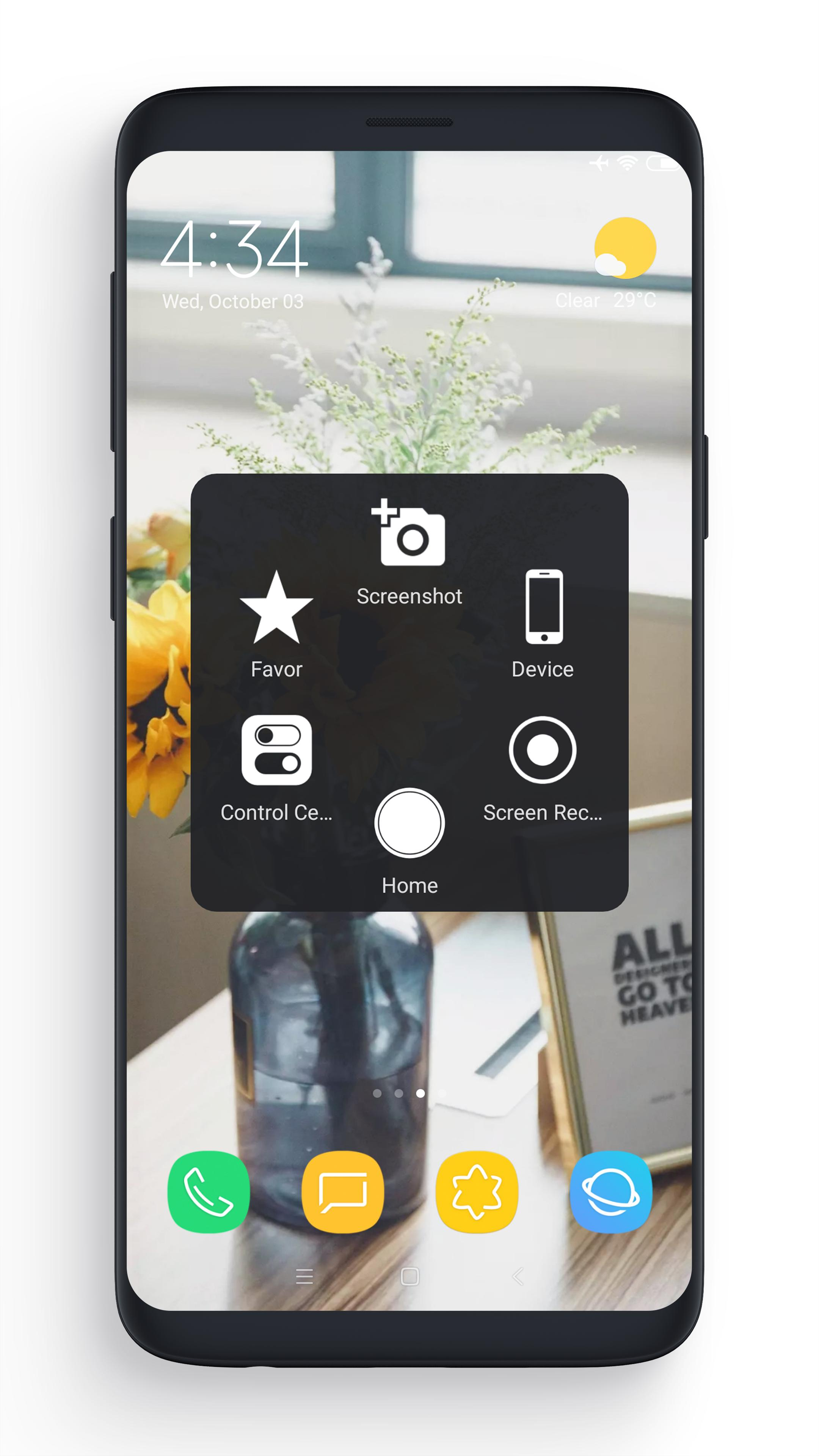 Donlot aplikasi samsung Assistive Touch