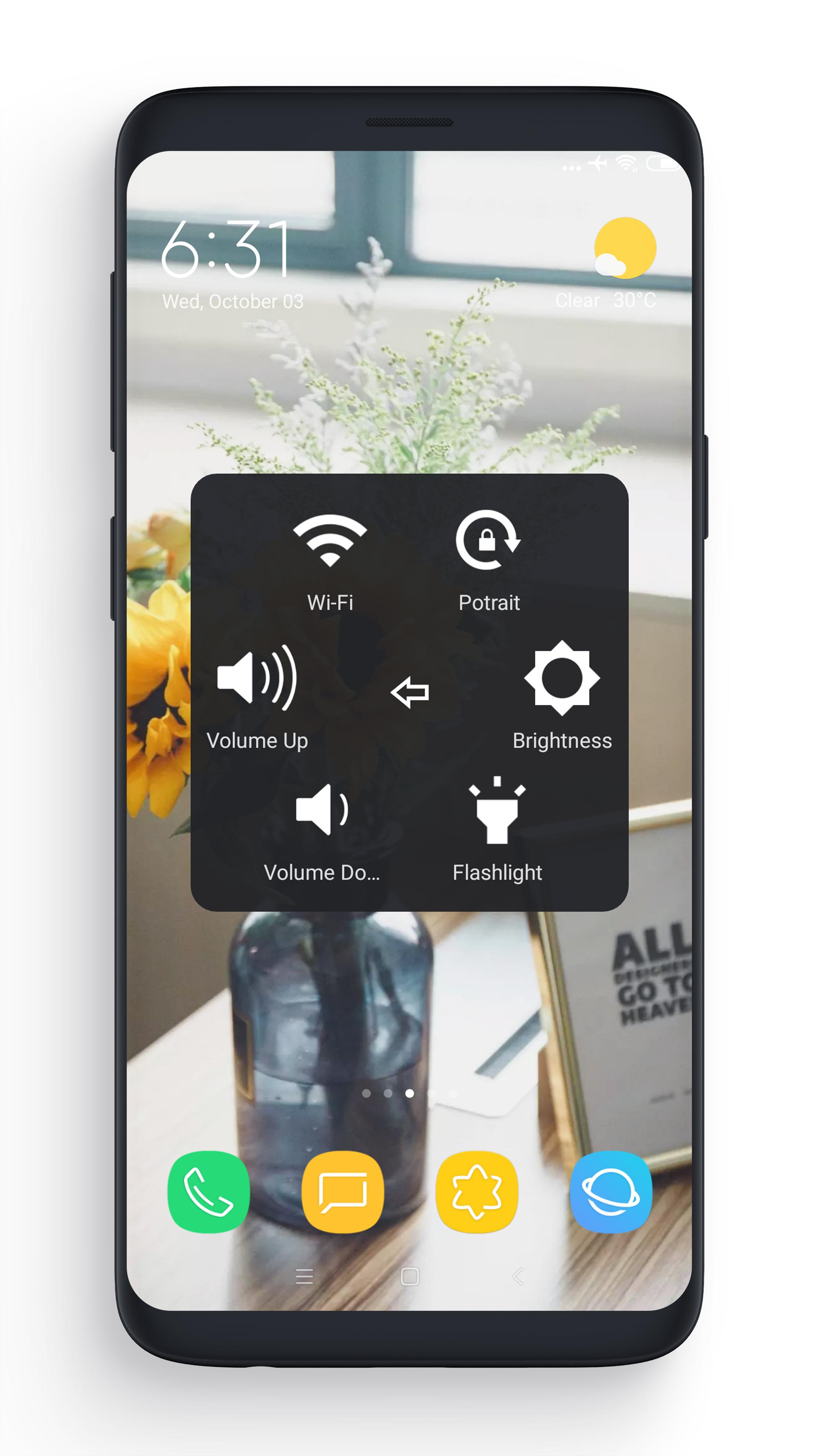 Download aplikasi hp android gratis Assistive Touch