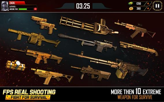 Call of Enemy Battle: Survival Shooting FPS Games screenshot 2