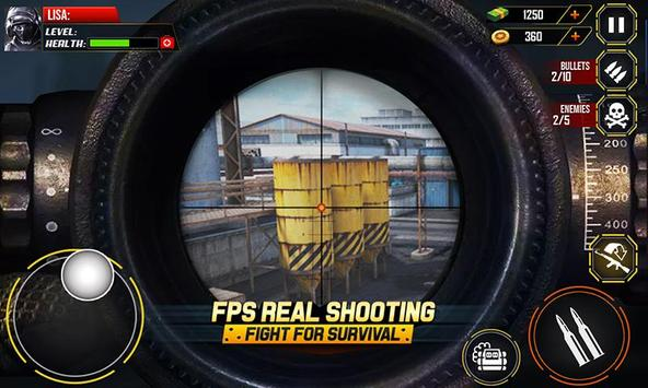 Call of Enemy Battle: Survival Shooting FPS Games screenshot 5