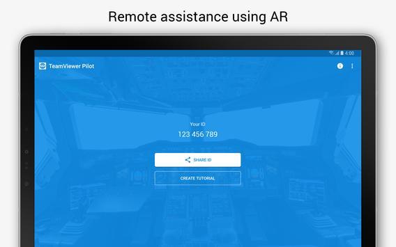 TeamViewer Pilot imagem de tela 4