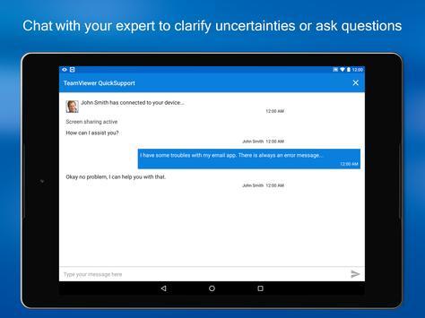 TeamViewer QuickSupport screenshot 8