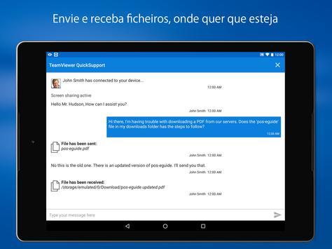 TeamViewer QuickSupport imagem de tela 14